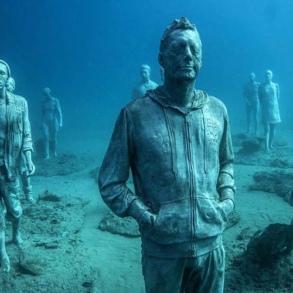 Подводные музеи Джейсона ди Кайреса Тейлора